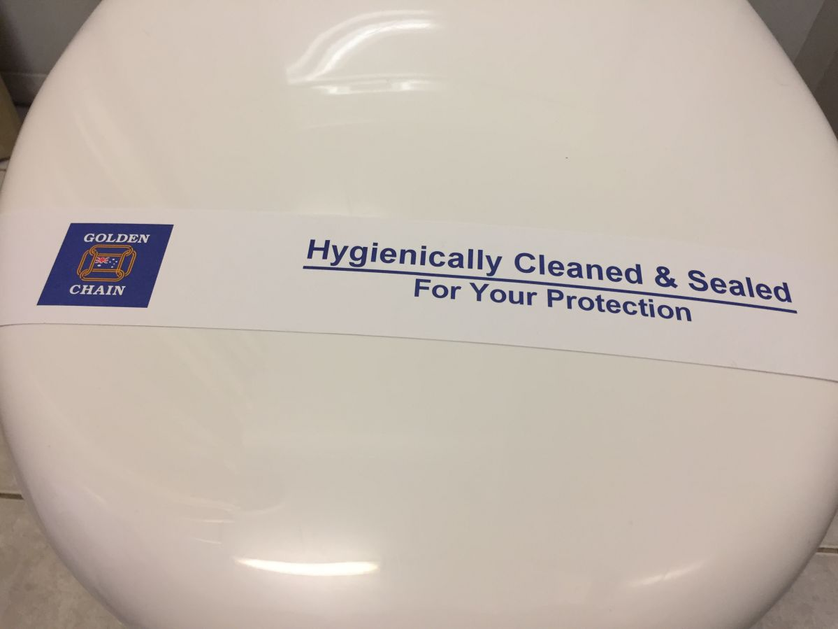 Hygienically Cleaned & Sealed